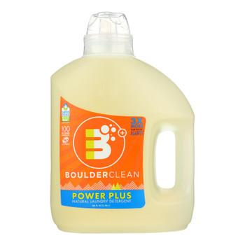 Boulder Clean Valencia Orange Powerplus Laundry Detergent - Case Of 4 - 100 Fz