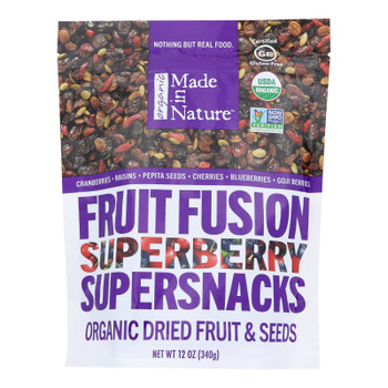 Made In Nature - Super Berry Dried - Case Of 6-12 Oz