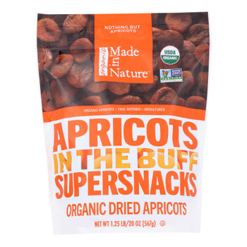 Made In Nature - Apricots Dried - Case Of 6-20 Oz