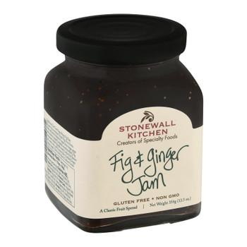Stonewall Kitchen - Jam Fig & Ginger - Case Of 12-12.5 Oz