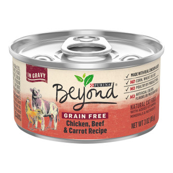 Beyond Purina - Cat Food Can Chicken Bf Cart - Case Of 12-3 Oz