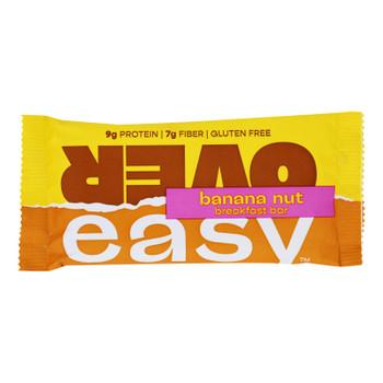 Over Easy - Breakfast Bar Banana Nut - Case Of 12-1.8 Oz