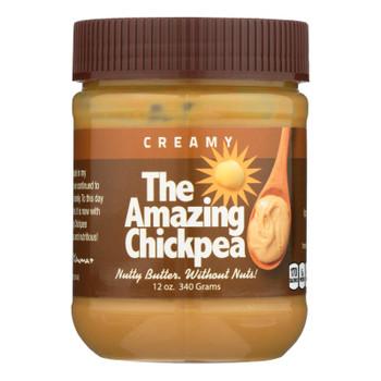 The Amazing Chickpea - Chickpea Butter Spread Creamy - Case Of 6 - 12 Oz