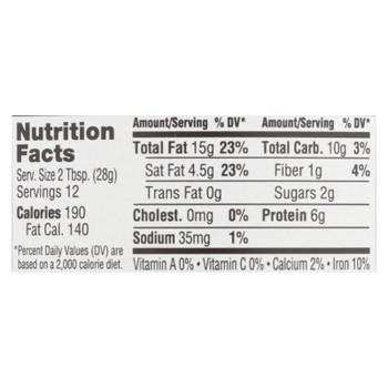 Abby's Better Nut Butter - Coconut Cashew Nut Butter - Case Of 6 - 12 Oz.