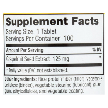 Nutribiotic - Supp Grapefruit Seed Extract 125 - 1 Each 1-100 Ct