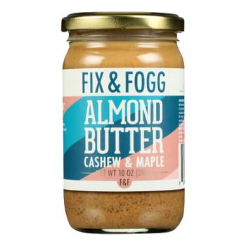 Fix & Fogg - Nut Butter Almond Cshw Maple - Case Of 6-10 Oz