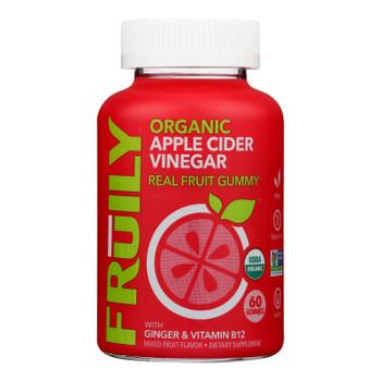 Fruily - Apple Cider Vinegar Gummy - 1 Each 1-60 Ct