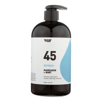 Way Of Will - Body Wash 45 Refresh Mandarin & Mint - 1 Each 1-16 Fz