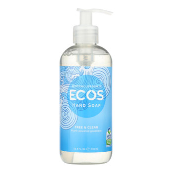 Ecos - Hand Soap Free And Clear - Case Of 6-11.5 Fz