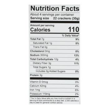 Hu - Crackers Sea Salt Grain Free - Case Of 6-4.25 Oz