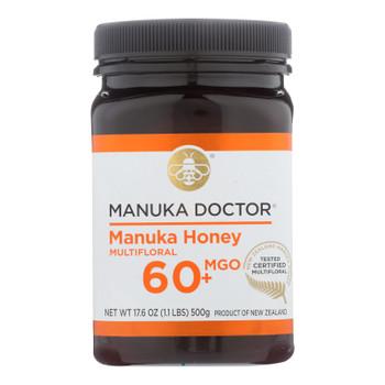 Manuka Doctor - Manuka Honey Mf Mgo60+ 500g - Case Of 6-17.6 Oz