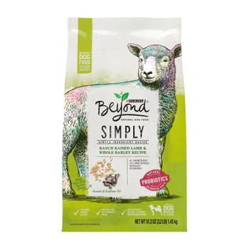 Beyond Purina - Dog Food Smply9 Lamb/barley - Case Of 4-3.2 Lb