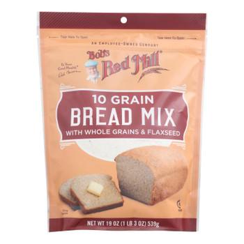 Bob's Red Mill - Bread Mix 10 Grain - Case Of 4-19 Oz