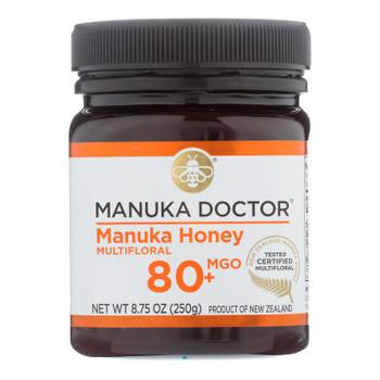 Manuka Doctor - Manuka Honey Mf Mgo80+ 250g - Case Of 6-8.75 Oz