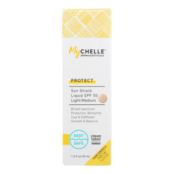 Mychelle Dermaceuticals - Sun Shield Spf 50 Nude Tnt - 1 Each 1-1 Oz