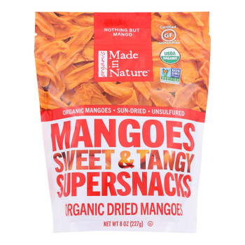Made In Nature - Mango Dried - Case Of 6-8 Oz