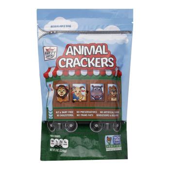 Happy Snacks - Cracker Circus Animals - Case Of 6 - 8 Oz
