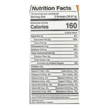 Kos - Plant Protein Chocolate Peanut Butter - 1 Each - 20.56 Oz