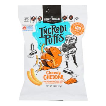 Incredi Puffs - Snack Puff Chsy Chdr 100cal - Case Of 12-.74 Oz