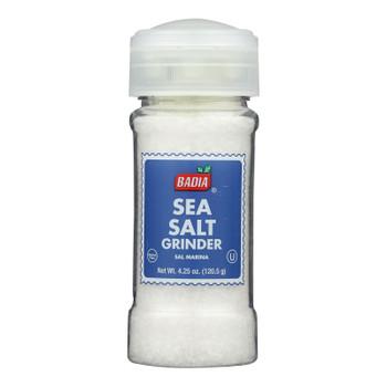 Badia Spices - Spice Sea Salt Grinder - Case Of 8-4.5 Oz