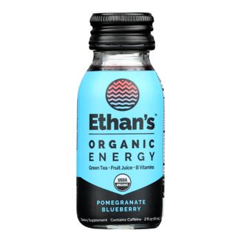 Ethan's - Energy Shot Pomegranate Blueberry - Case Of 6-2 Fz