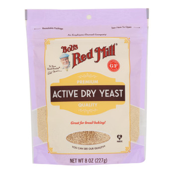 Bob's Red Mill - Yeast Active Dry - Case Of 4-8 Oz