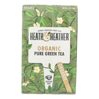 Heath & Heather - Tea Pure Green Tea - Case Of 6-20 Ct