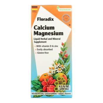 Floradix - Calcium Magnesium Liquid - 1 Each 1-8.5 Fz