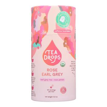 Tea Drops - Tea Rose Earl Grey - Case Of 6 - 10 Ct