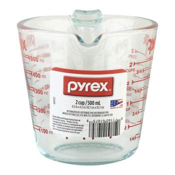 Pyrex - Measuring Cup Clr 2 Cup - Case Of 6-1 Ct