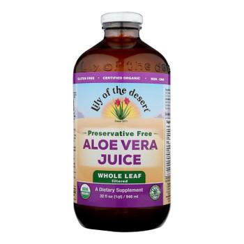 Lily Of The Desert - Aloe Vera Juice - Whole Leaf - 32 Fl Oz