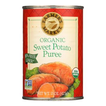 Farmer's Market Organic Pumpkin - Potato Puree - Case Of 12 - 15 Oz.