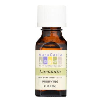 Aura Cacia - Pure Essential Oil Lavandin - 0.5 Fl Oz