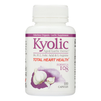 Kyolic - Aged Garlic Extract Total Heart Health Formula 108 - 100 Capsules