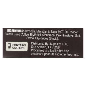 Superfat - Nut Butter Coffee & Mct - Case Of 10 - 1.5 Oz