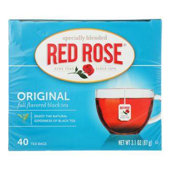 Red Rose Full Flavored Black Tea - Case Of 6 - 40 Ct