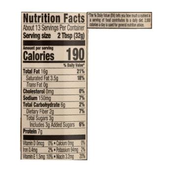 Skippy Natural Creamy Peanut Butter Spread - Case Of 12 - 15 Oz
