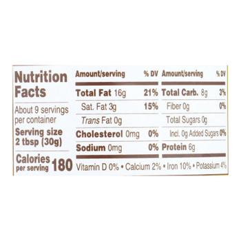 Manischewitz - Nut Butter Cashew - Case Of 6 - 10 Oz