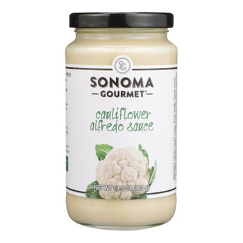 Sonoma Gourmet - Sauce Creamy Cauliflower Alfredo - Case Of 6-15.5 Oz