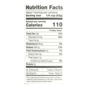 Sonoma Gourmet - Sauce Creamy Spinach Alfredo - Case Of 6-15.5 Oz