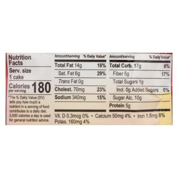 Nush - Cake Banana Nut - Case Of 72-2.1 Oz