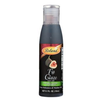 Roland Products Roland Balsamic Vinegar Of Modena Fig Glaze - Case Of 12 - 5.1 Oz