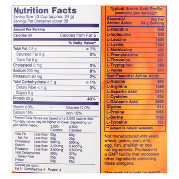 Now Foods - Soy Protein - 1 Each 1-2 Lb