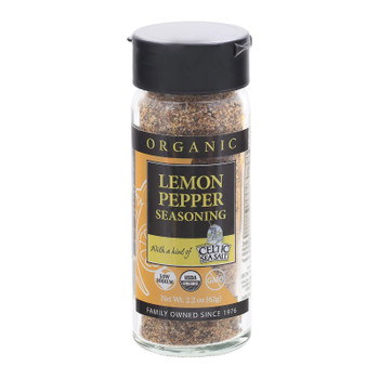 Celtic Sea Salt - Spice Blend Lemon Pepper - 1.8 Oz