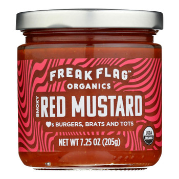 Freak Flag - Mustard Smokey Red - Case Of 6 - 7.25 Oz