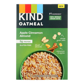 Kind - Oatmeal Apple Cinnamon Almond - Case Of 5 - 6 Ct