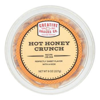 Creative Snacks - Bag Hot Honey Crunch - Case Of 12 - 8 Oz