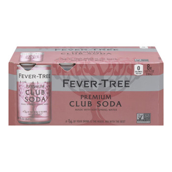 Fever-tree - Club Soda Cans - Case Of 3-8/5.07fz