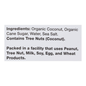 Creative Snacks Co. Organic Toasted Coconut Chips  - Case Of 12 - 3 Oz