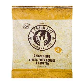 A Cajun Life - Season Chicken Rub - Case Of 12 - 1 Oz